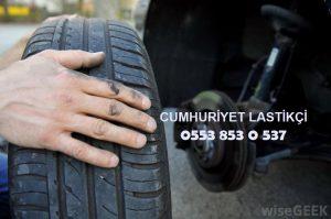 Cumhuriyet Acil Lastik Yol Yardım 0553 853 0 537
