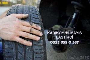 Kadıköy 19 Mayıs 24 Saat Açık Lastikçi 0553 853 0 537